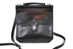 Vintage Coach Willis Black Leather Crossbody by CommonCentsThrift