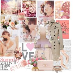 """""""Ooshima Yuko from AKB48"""" by cafe-le-psyence ❤ liked on Polyvore"""