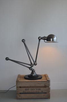 5 Arms Jielde Lamp 1950 French 100 Original Design Industrial Vintage   eBay Vintage Industrial, Industrial Style, Industrial Design, Desk Lamp, Table Lamp, Industrial Floor Lamps, Household Items, Lighting Design, Mid-century Modern