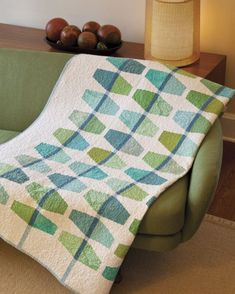 """Another great quilt from the book """"Transparency Quilts"""" by Weeks Ringle and Bill Kerr."""