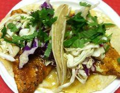 Fresh Fish Tacos....Oishi Des! Yum!