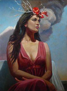 "Saatchi Art Artist Michael Foulkrod; Painting, ""Malibu"" #art"