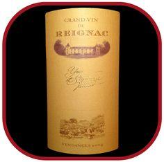 GRAND VIN DE REIGNAC 2009 le vin du Château de Reignac pour notre blog sur le vin