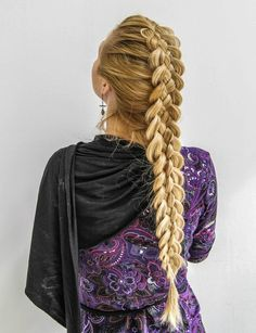 Double french braid...gotta learn this!
