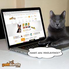 Yenilenen web sitemiz ile dostlarınızın tüm ihtiyaçlarına kolaylıkla ulaşabilirsiniz: www.patiservis.com