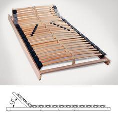 Wohlbehagen in jeder Nacht – der Lattenrost Flexo K als ideale Basis für das Bett Night, Timber Wood