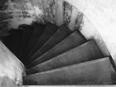 Spiral Stairs at Battery Russell
