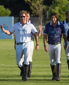 Pin for Later: Prince Harry's Polo Match Looks Like It's Straight Out of a Magazine
