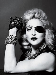Madonna #pirate #goth #fashion