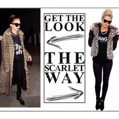 "@Jamie Gagnon Clothing's photo: ""new blog post up // www.scarletclothingonline.blogspot.com #nicolerichie #girlcrush #leopard"""