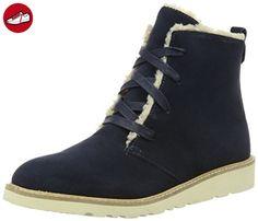 ESPRIT Damen Kajal LU Bootie Chukka Boots, Blau (400 Navy), 40 EU - Esprit schuhe (*Partner-Link)