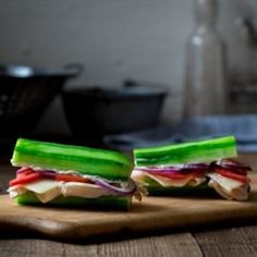Cucumber Turkey Sub Sandwich - EatingWell.com