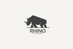 Rhino Logo by @Graphicsauthor