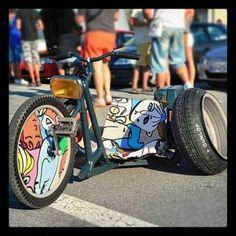 Mini Chopper, Chopper Bike, Bike Drift, Drift Trike Motorized, Go Kart Buggy, Kids Ride On, Bmx Bikes, Mini Bike, Custom Bikes