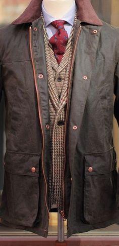 galavictor shared a photo from Flipboard Minimal Fashion, Men's Fashion, Minimal Style, Classic Fashion, Fasion, Tweed Run, Wax Jackets, Natural Man, Men Closet