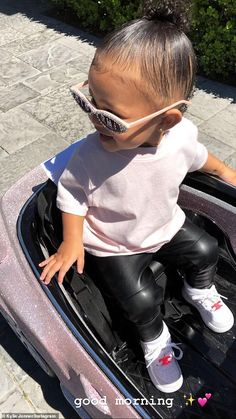 young mom Angel: But it wasnt all about Kylie on Sunday, with the young mom also sharing some touching bonding moments with her one-year-old daughter Stormi Webster