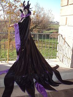 Maleficent at the sunset by Giorgiacosplay on DeviantArt