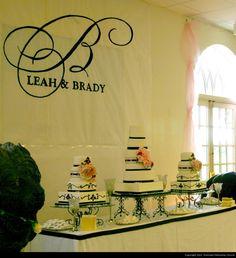 Burba Remnant Fellowship Wedding Cake