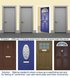 96 best exit diversion door disguises for alzheimer residents in rh pinterest com
