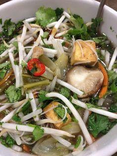 Vegan Pho King Soup  Another decent vegan food blog
