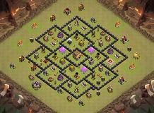 ufgu TH 8 Clash of Clans Base Layout
