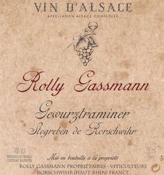 Rorschwihr Rollt Gassmann Stegreben / Pays de Ribeauvillé Riquewihr