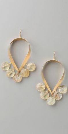 African Chandelier earrings