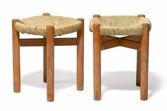 Stools by Charlotte Perriand