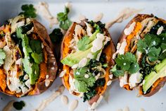 Loaded Sweet Potato with Chipotle Cashew Cream | The Modern Proper