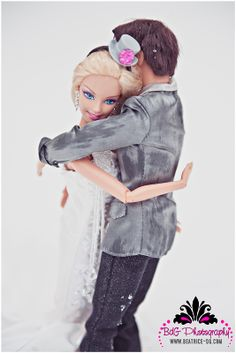 Barbie Ken wedding trash the dress BEE_7824