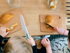 Toddlers Using Knives Montessori Materials, Montessori Activities, Toddler Activities, Non Perishable Items, Toddler Friendly Meals, Making Peanut Butter, Spice Containers, Baby Food Jars, Soft Foods
