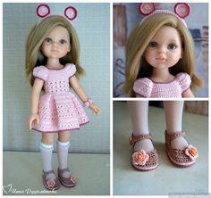 Летний комплект одежды для кукол типа Paola Reina 32 см / Одежда для кукол / Шопик. Продать купить куклу / Бэйбики. Куклы фото. Одежда для кукол