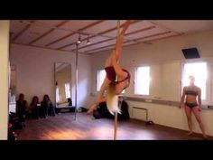 Pole Battle Oona K vs Bendy Kate - YouTube