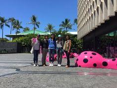 さとうあつこのハワイ不動産: 日本の家族とワードビレッジショールームへ