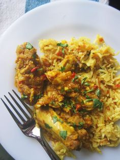 Indian Spiced Chicken and Tomato Rice