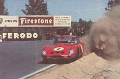 Mike Parkes / Lorenzo Bandini - Ferrari 330 LM/GTO - SpA Ferrari SEFAC - XXX Grand Prix d'Endurance les 24 Heures du Mans - 1962 World Sportscar Championship, round 8 - Challenge Mondial de Vitesse at Endurance, round 4