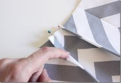 Crafty Cupboard's Pleated Chevron Skirt | Sewing In No Mans Land