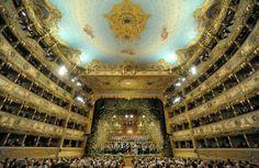La Fenice, Venice Italy saw La Traviata here, beautiful!
