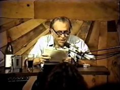 Charles Bukowski's last poetry reading - The Last Straw Rare Footage - YouTube
