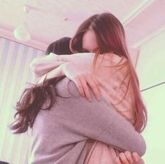 ''— no matter how long you grow up, you'll always be my little girl. Lesbian Love, Cute Lesbian Couples, Ulzzang Couple, Ulzzang Girl, Korean Couple, Korean Girl, Couples Lesbiens Mignons, Shooting Photo Amis, Korean Best Friends