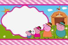 Invitaciones de cumpleaños de Peppa Pig. Invitaciones de Peppa Pig. Invitaciones de Peppa Pig para imprimir.  http://www.invitacionesde.com/invitaciones-de-cumpleanos/invitaciones-de-peppa-pig-para-imprimir/