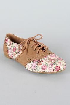 CAMEL Women's Floral Lace Up Oxford Flats Size 6 to 10 | eBay