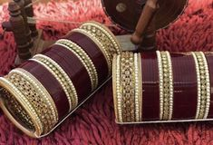 Asian Bridal Wear, Indian Bridal Outfits, Indian Bridal Makeup, Bridal Bangles, Wedding Jewelry, Chuda Bangles, Wedding Chura, Bridal Chuda, Bridal Makeover