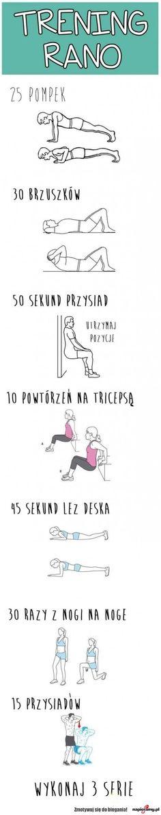 Poranny trening