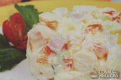 Receita de Salada russa - Comida e Receitas