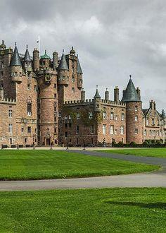 Glamis Castle, Scotland, by Daniel Ryan