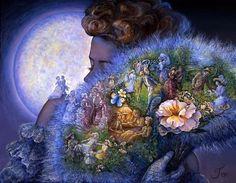 """Fantasy 1"" par Josephine Wall"
