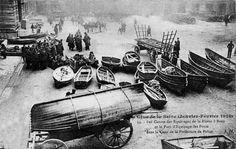Crue de 1910 : lieux dans Paris