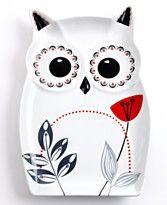 Owl plate from Macys