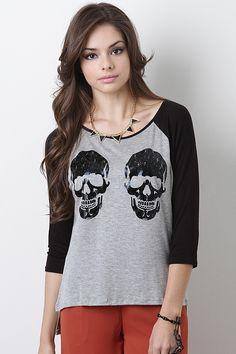 Binary Skull Top $19.60